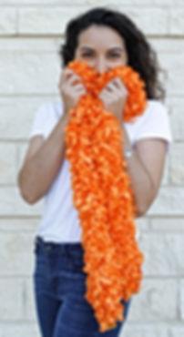 OG-orange-boa_featherless_no_feather_boa