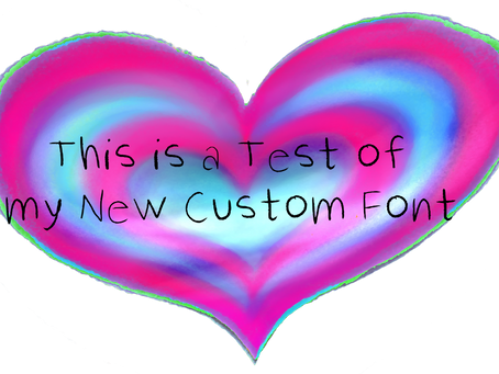 Create your Own Custom Font without Special Software