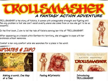#TROLLSMASHER #comic #PRomo Page is GO!
