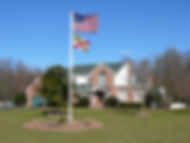 Residential flagpole installation, flagpole refinishing, flagpole painting, flagpole light repair, flagpole replacement