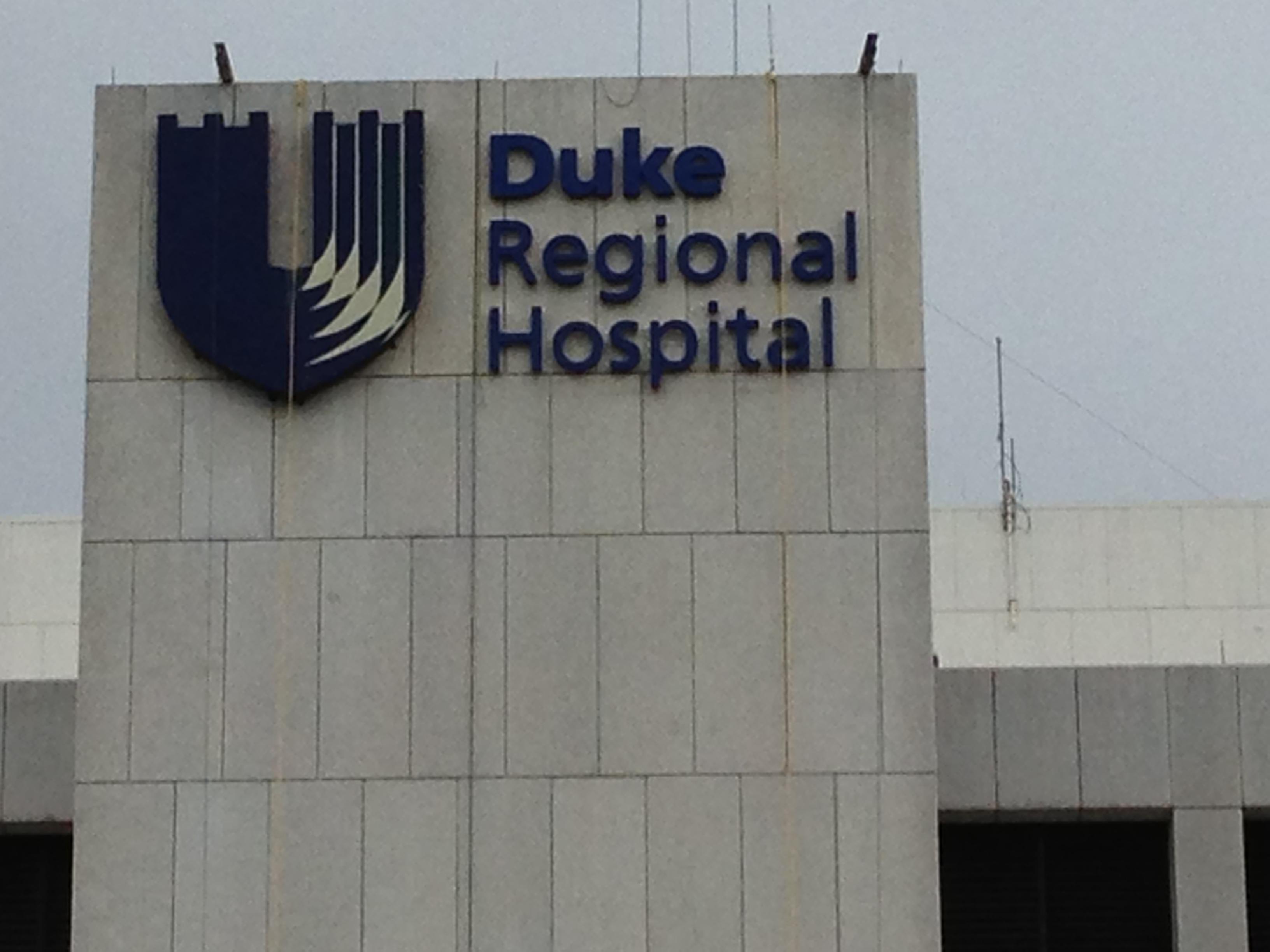 Duke Regional Hospital, Durham NC