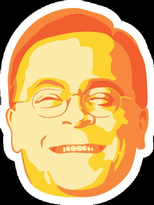 Obey Bob head sticker