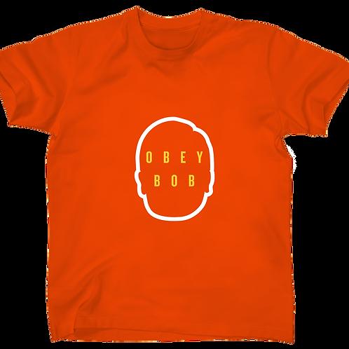 Obey Bob orange shirt