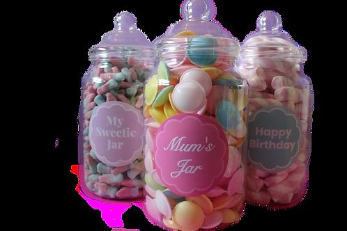 Personalise Sweet Jars!