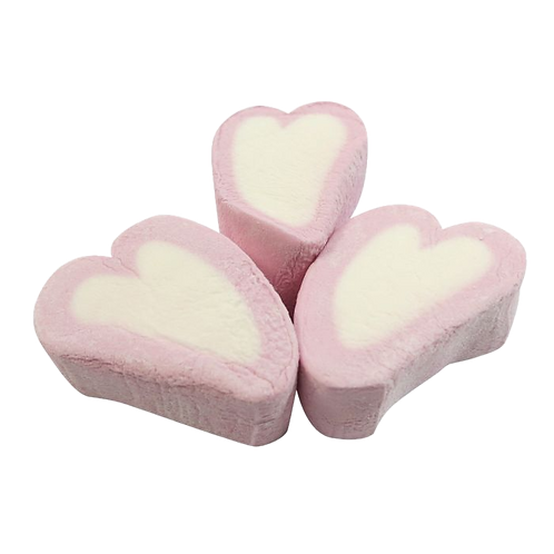 Love Heart Marshmallows
