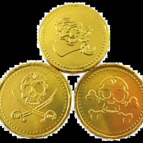 Milk Chocolate Pirate Coins
