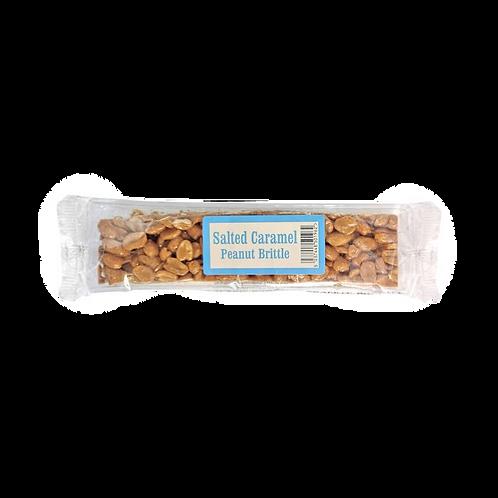 Salted Caramel Peanut Brittle