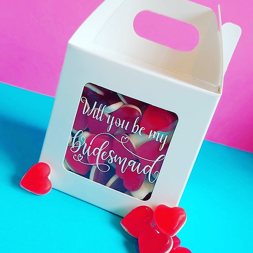 Will You Be My? Wedding Boxes