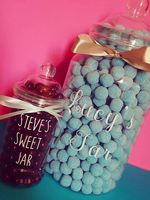 Personalised Sweet Jars - Add Any Name!