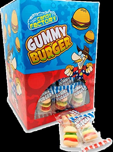Gummi Mini Burger x 4