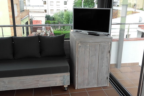 Fridge and television cabinet Pere