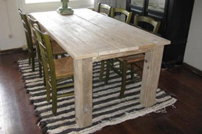 mesa de bloques