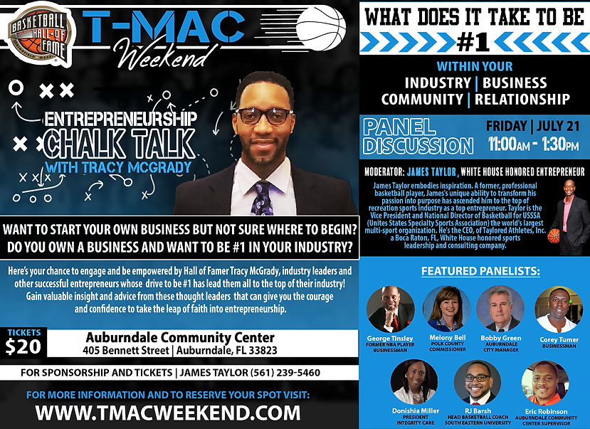 Tracy McGrady - TMac Weekend 2017