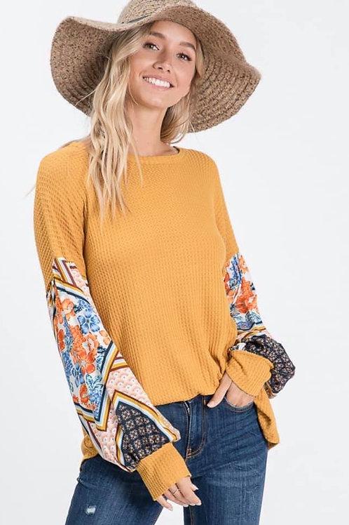 Mustard Long Sleeve
