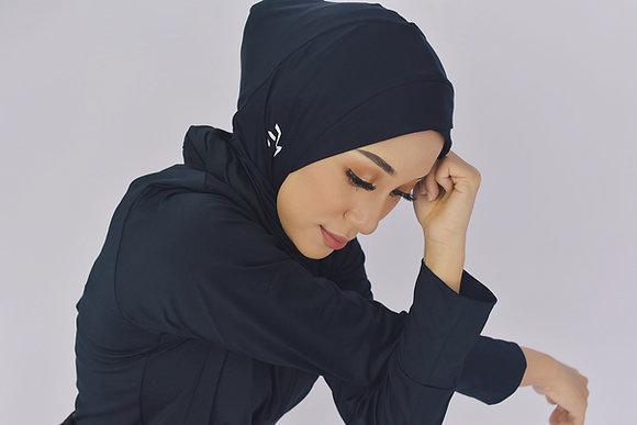 Active Hijab (Black)