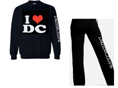 DC Tracksuit with Pullover Jumper