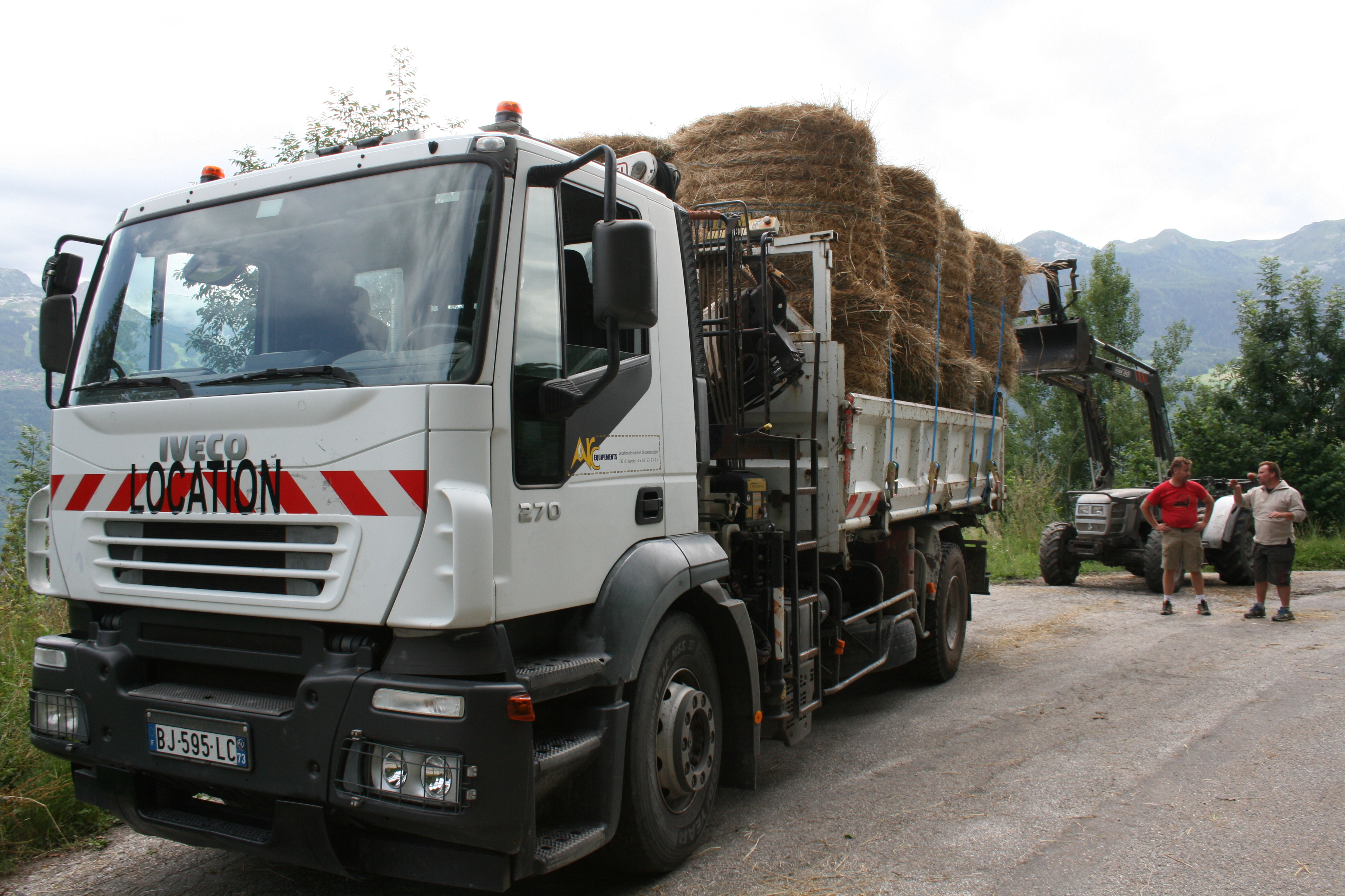 Camion grue 19 T