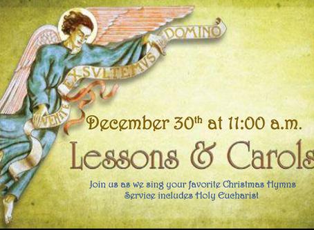 Christmas Lessons and Carols