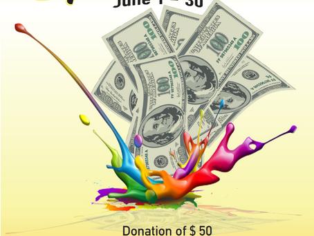 June Splash for Cash