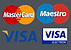 VISA & MASTERCARD COLOUR ON GREY PERFECT