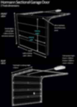 Hormann Sectional Garage Door Dimensions