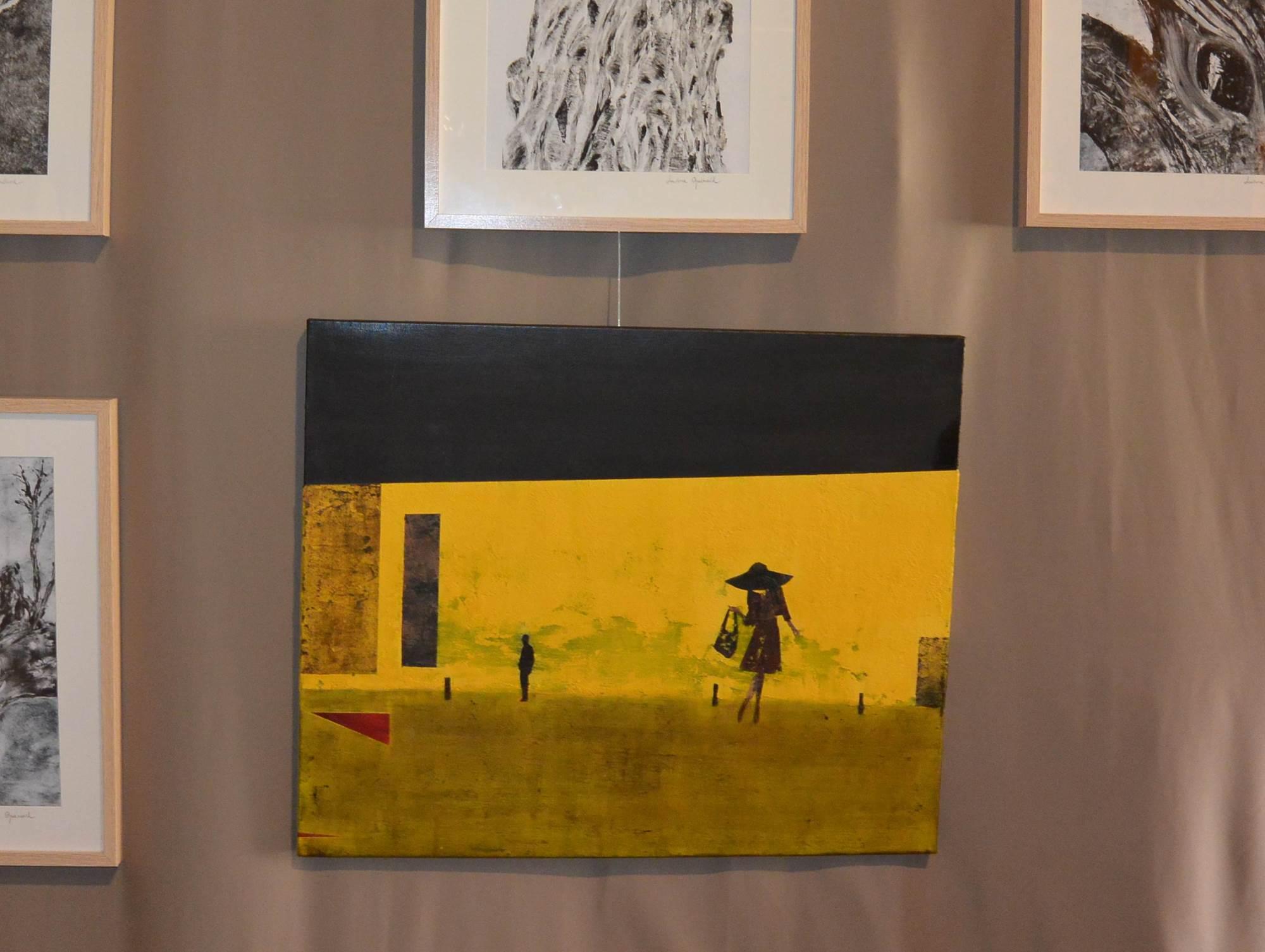 Nadège Raineteau. Peinture