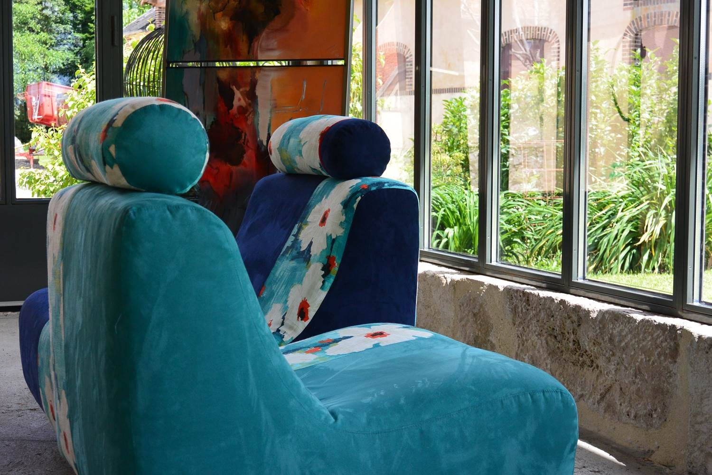 association siège, peinture