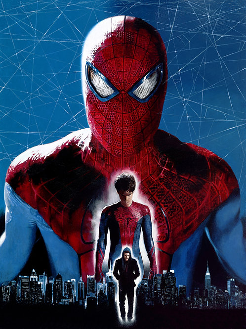 """""""ALONG CAME A SPIDER-MAN"""" 18 x 24 Limited Edition Canvas Giclee'"""