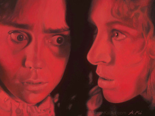 """SUZY, SARA, SUSPIRIA""   20 x 16  Limited Edition Canvas Print"