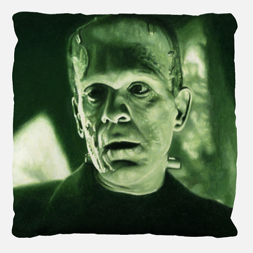"""""""THE MONSTER"""" Decorative Pillow"""