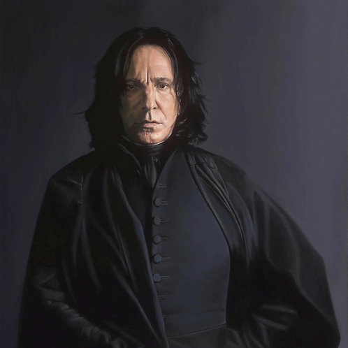 """ALWAYS SNAPE"" 36 x 24 Limited Edition Giclee' Canvas"