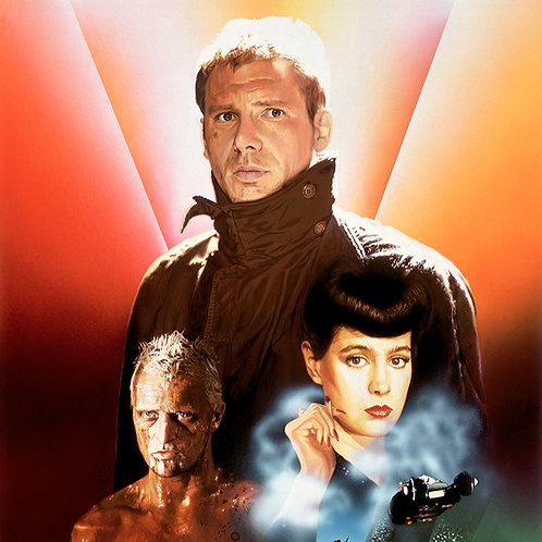 """""""LEGEND OF BLADE RUNNER"""" 20 x 30 Limited Edition Canvas Print"""