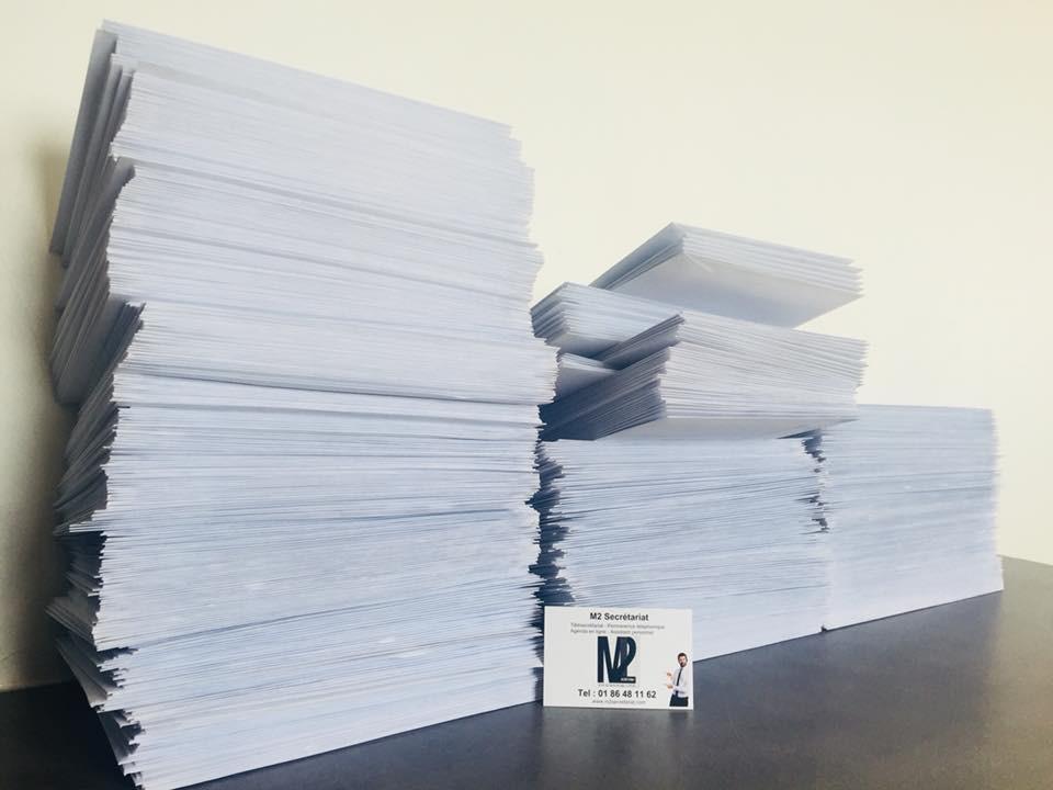 650 enveloppes