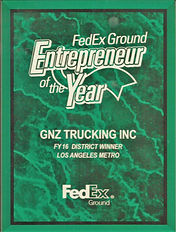Armada Trucking Award