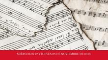 Encuentro de investigación de música del siglo XVIII