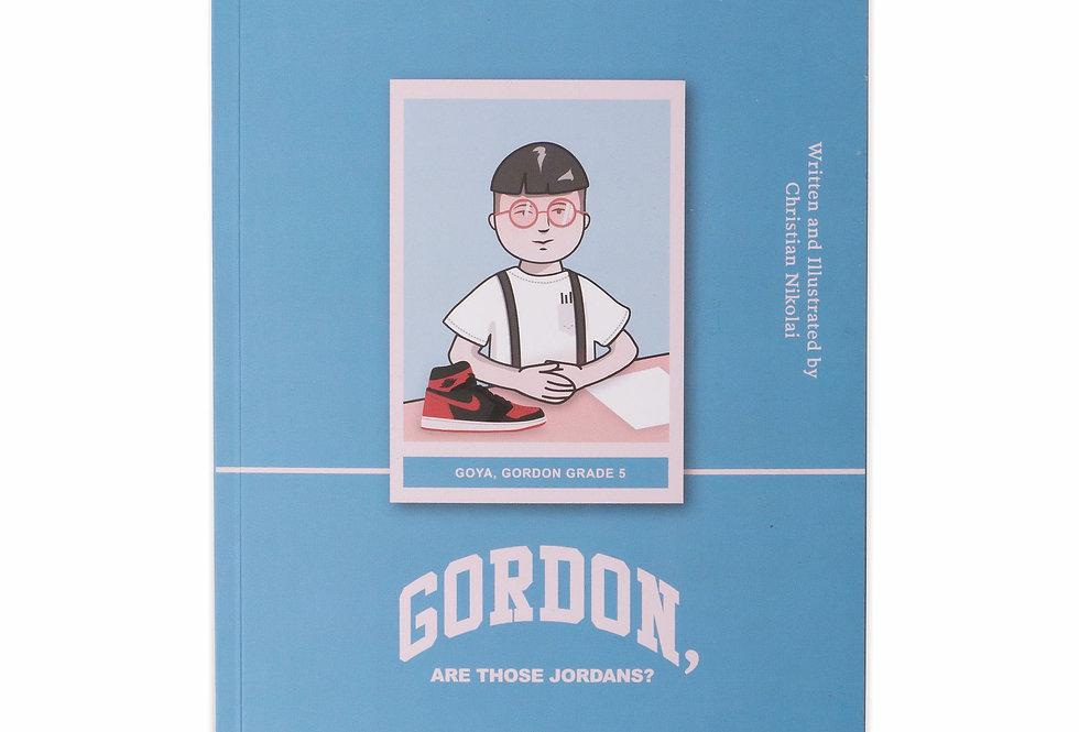 Gordon, are those Jordans? (Book)