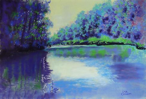 Meramec Jack original pastel painting