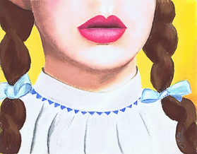 dorothy wizard of oz painting