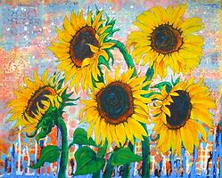 Joy of Sunflowers Desiring