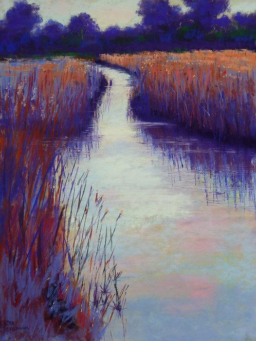 Marshy Reeds fine art print
