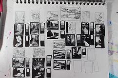artist sketchbook, sketches, landscape sketches
