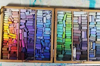 pastels palette vibrant colors