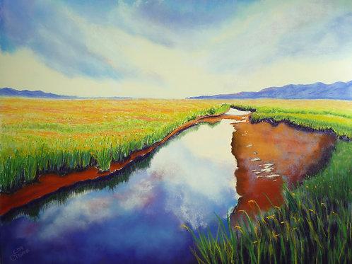 Prairie Farms canvas print