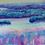 Iridescent Playground original pastel painting