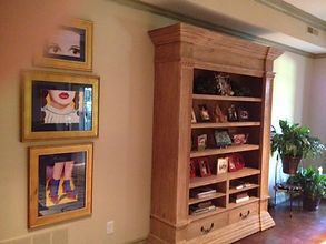 My Dorothy paintings in customers home