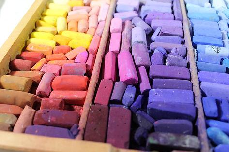 pastels, pastel palette, artist pastels, colors, vibrant