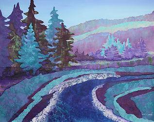 ginal mixed media painting