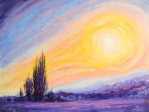 Van Go Mojo painting canvas print