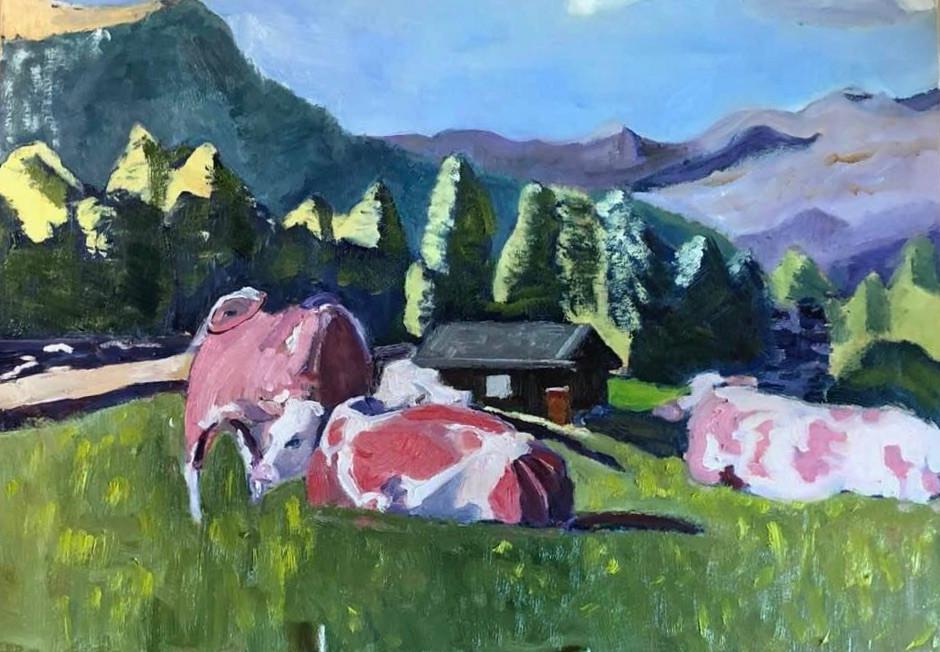dolomite cows #2