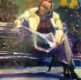 man with paris journal